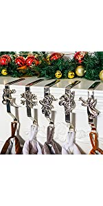 Sliver Stocking Holders 5