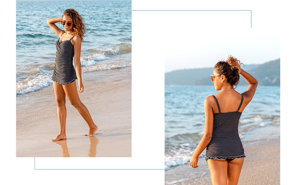 bathing suit for women swimdress swimsuits for women one piece swimwear