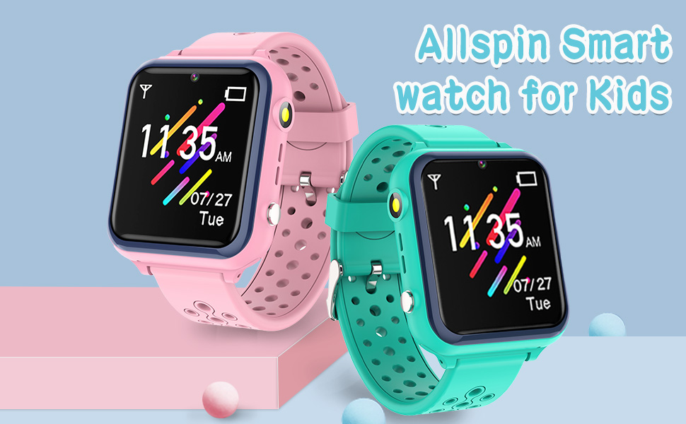 Allspin Smart Watch for Kids