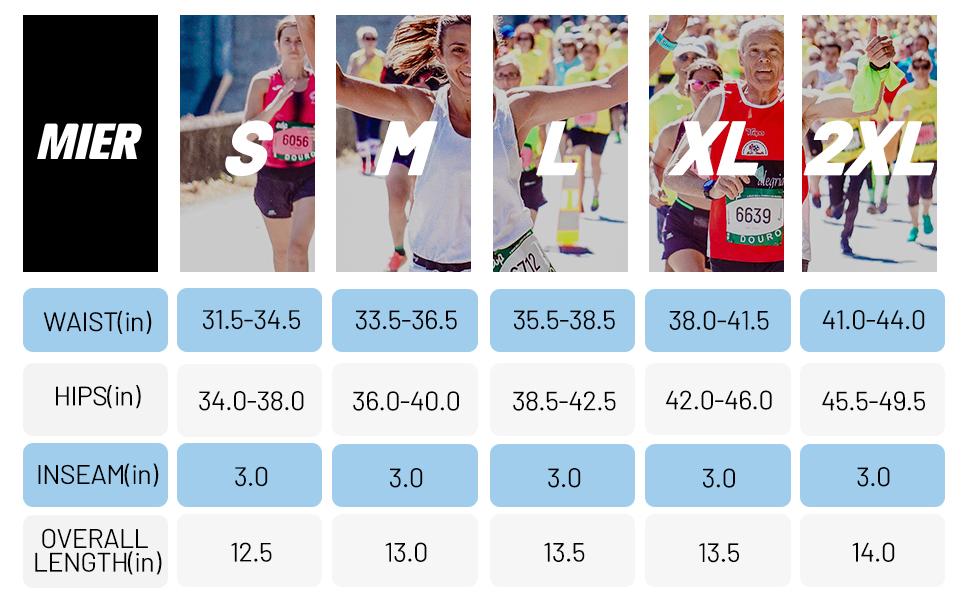 "3"" 3 in running marathon run shorts zip pockets track shorts sportswear activewear"