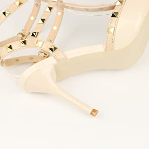 slim high heel