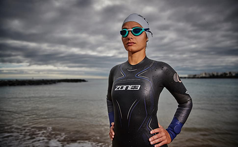 zone3 viper speed goggles women men unisex swimming pool open water beach