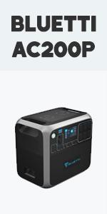 BLUETTI Portable Power Station AC200P