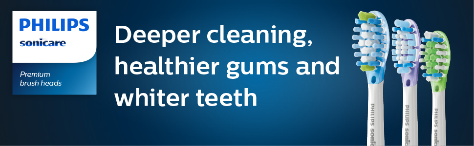 Deeper cleaning, healthier gums and whiter teeth