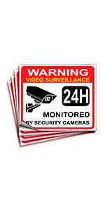 Video Surveillance Warning