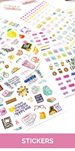 bloom planner stickers category