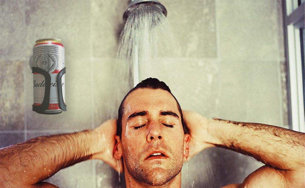 Shower Beer Holer