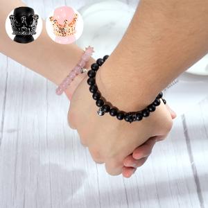black pink bracelet