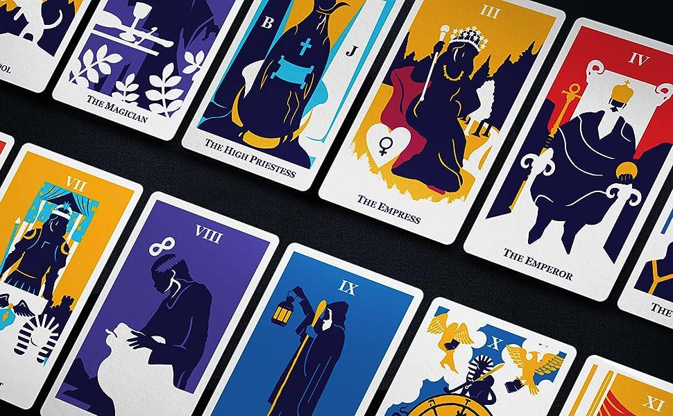 modern way tarot card deck major arcana