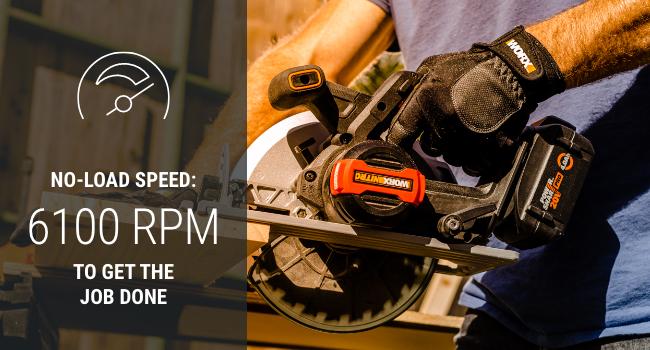 Get the job done worx circular saw