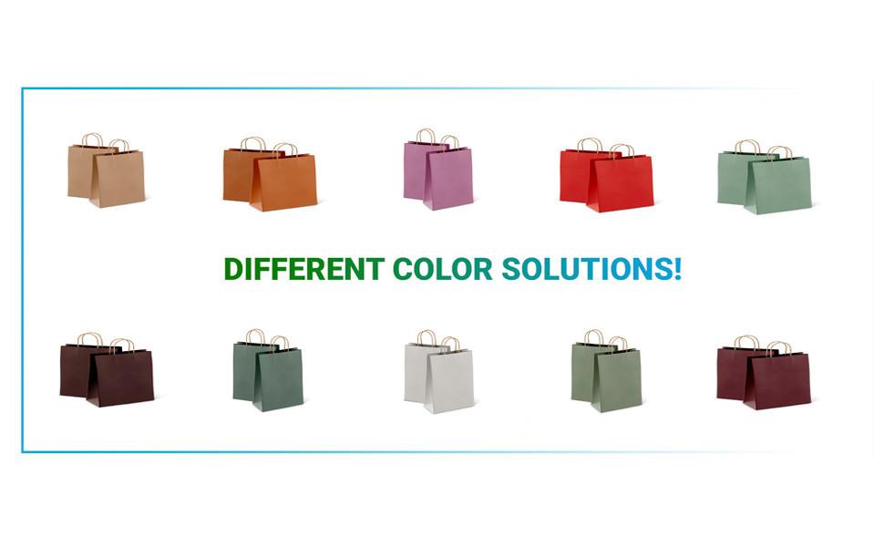 AMIFF Brown Paper Sacks Reusable Paper Bag Small Shopping Bags Bulk Fall Gift Bags Customized AMIFF