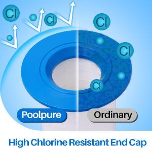 High Chlorine Resistant End Cap-Sundance 6473-164