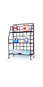3 tier storage rack