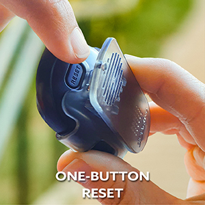 One-button reset.