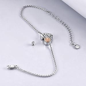 rose urn bracelet