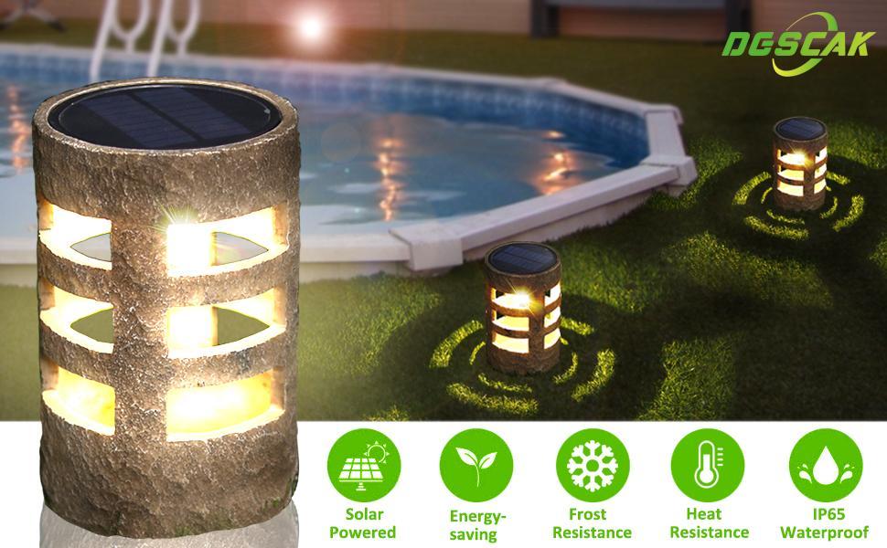 Solar Deck Lights Waterproof