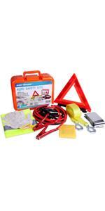 Roadside Assistance Auto Emergency Kit Set