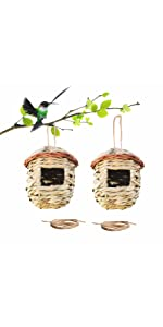 Birdhouses for outside hanging