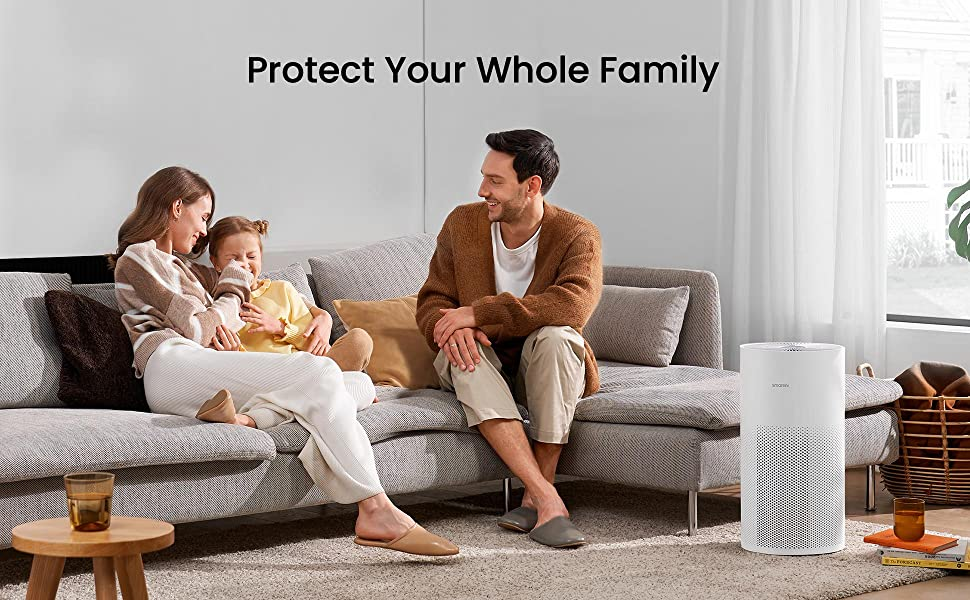 Smartmi HEPA Air Purifiers for Home Large Rooms