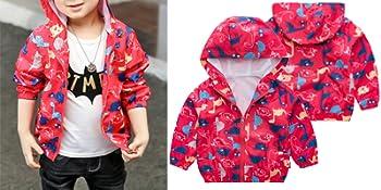 Kids Baby Boys Dinosaur Coat Jacket