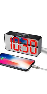 digital clock for bedroom