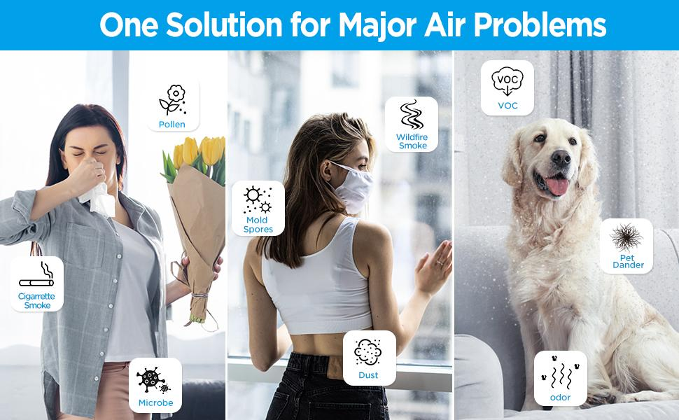 one solution for all major air problems