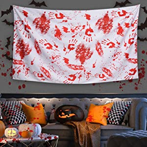 zombie blood tablecloth