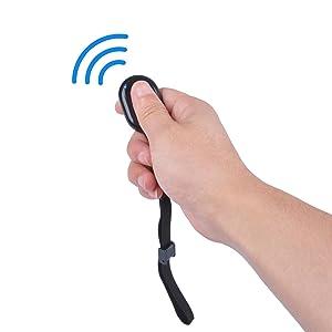 Wireless bluetooth phone camera shutter