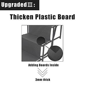 thicken board in fabric