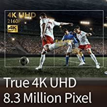 TK800M's 4K resolution reduces pixel blur for awe-inspiring clarity and crisply defined fine details