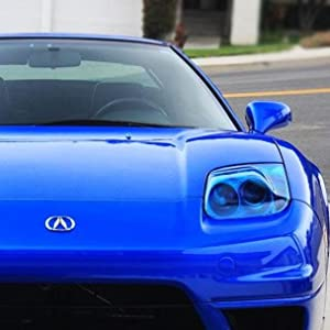blue headlight tint