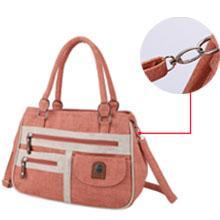Satchel handbag top handle
