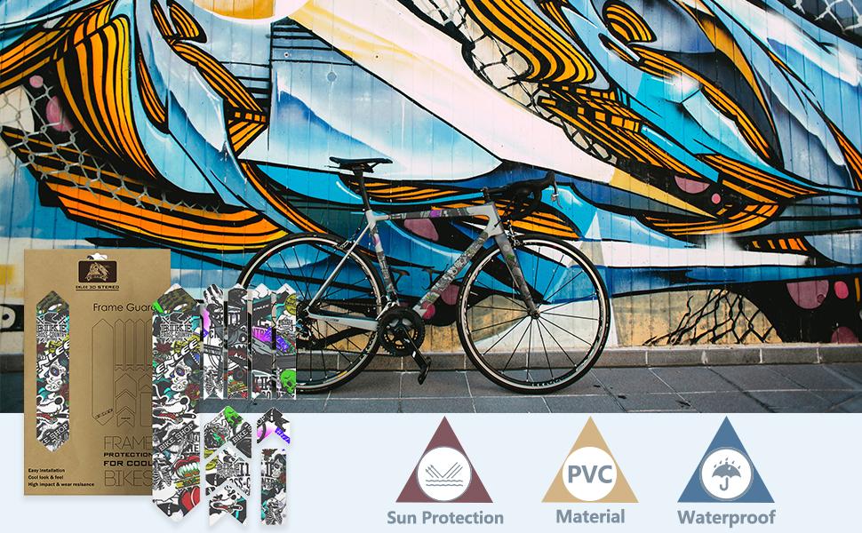 Autocollants de vélo
