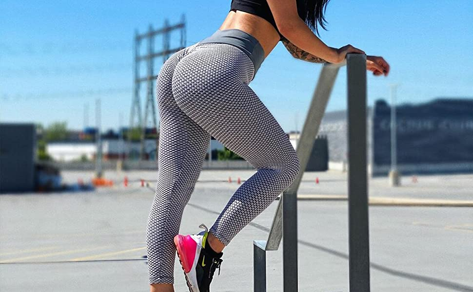 Ruched Butt Lifting Leggings