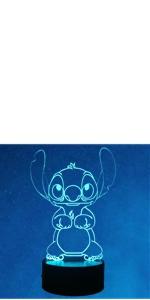 Stitch 3D Night Light