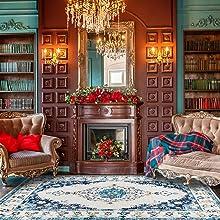 DECOMALL Area Rugs, Area Persian Rug, Carpet Area Rugs, Traditional Persian Rug