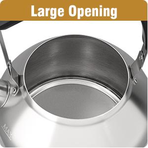 Large Opening