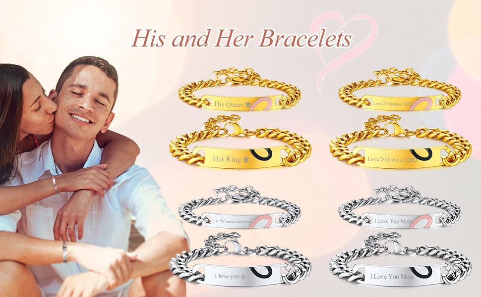 his her bracelets