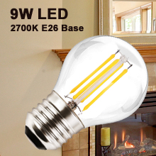 9w LED bulb included