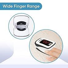 Wide Finger Range