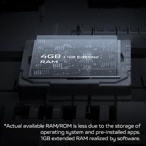 4GB+1GB Extended RAM