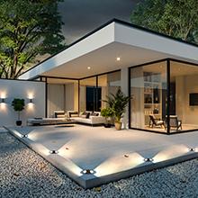 outdoor ground light