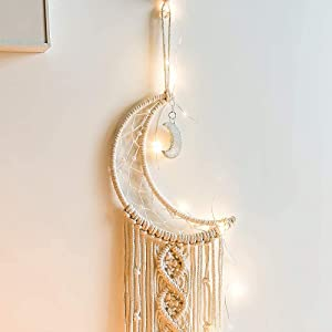 Elegante Perle und Shinning Moon Anhänger.
