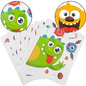 Halloween Window Clings Stickers