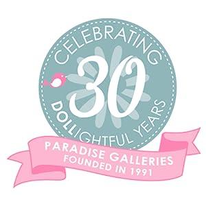 Paradise Galleries 30th Anniversary Logo