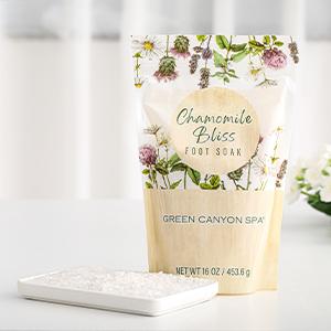 chamomile bliss foot soak