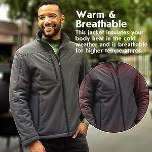 Warm & Breathable