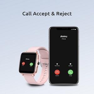Call Notification with Receive and Reject Options