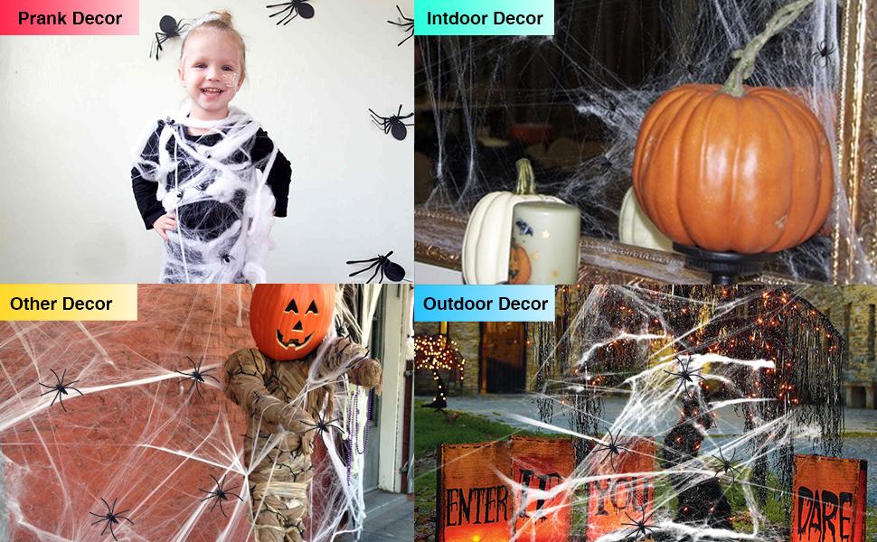 Spider Web Decor
