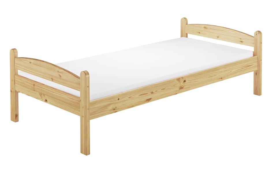 Lit simple en bois, lits en bois, lit, décoration de chambre d'enfant.